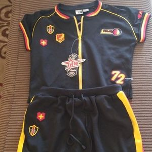 RW Sports large girls BRAND NEW 2 piece outfit